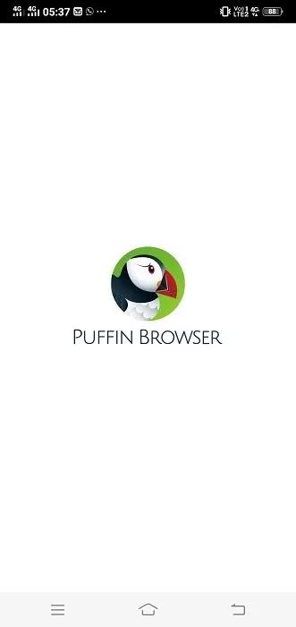 4. متصفح الويب Puffin