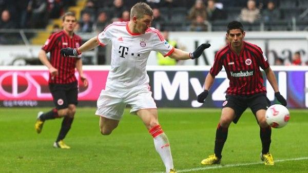 Bayern Munich vs Eintr. Frankfurt