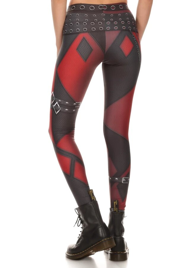Alucinantes Leggins de Harley Quinn