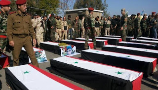 Allahu Akbar! Dalam Dua Minggu, 74 Tentara Rezim Syiah Nushairiyah asal Tartus Tewas