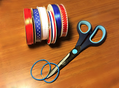 Firework Hair Bow Tutorial - Supplies