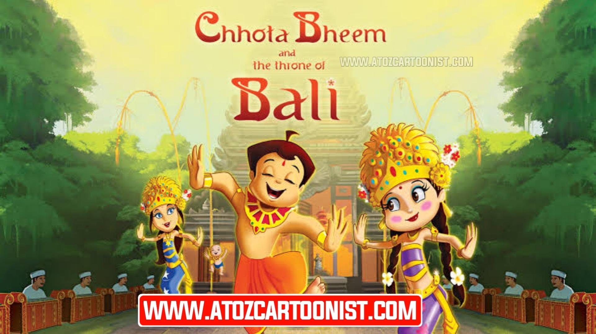 CHHOTA BHEEM AND THE THRONE OF BALI FULL MOVIE IN HINDI – TAMIL – TELUGU DOWNLOAD (480P, 720P & 1080P)