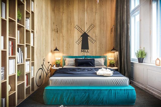 Mẫu phòng ngủ tuyệt đẹp cho căn hộ chung cư