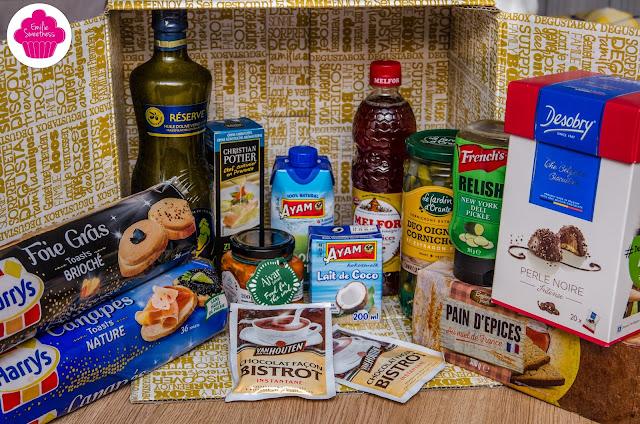 Degustabox de Novembre avec sélection de Noël - Description, test et avis