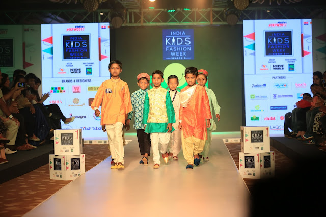 Day-2,Smile Foundation Kids also rocked the ramp at India Kids Fashion Week