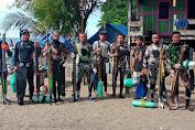 Komunitas Penyelam dan Pemanah Ikan Kepulauan Selayar Kunjungi Lokasi TMMD Ke-111, Ada Apa?