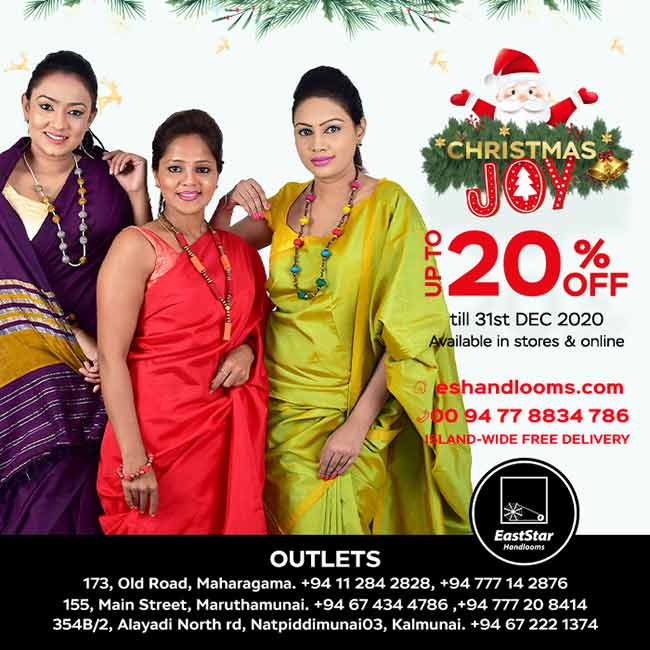 East Star Handlooms Christmas Joy! Get Up to 20%Off.