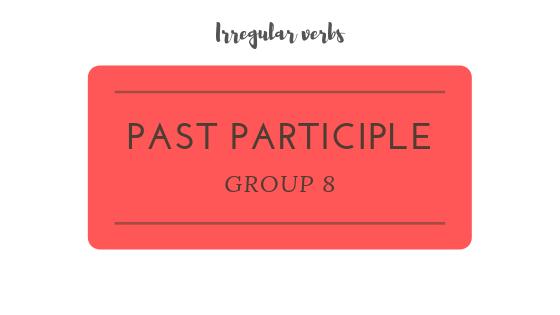 Past Participle practice