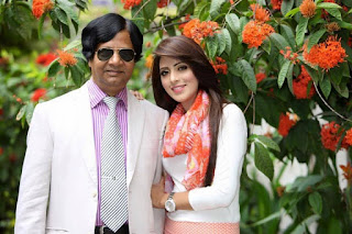 Bidya Sinha Saha Mim With Her Father Birendra Nath Saha