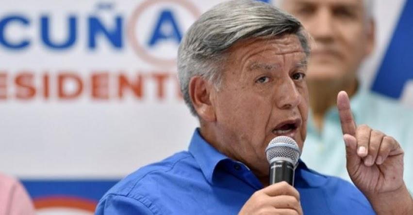 CÁLCULO POLÍTICO: César Acuña pide un «falso perdón» al país tras la crisis política
