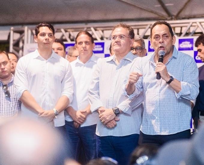 AVANÇOS PARA CAXIAS - Paulo Marinho reuniu-se em Brasília com senador Roberto Rocha, Fábio Gentil e Zé Gentil