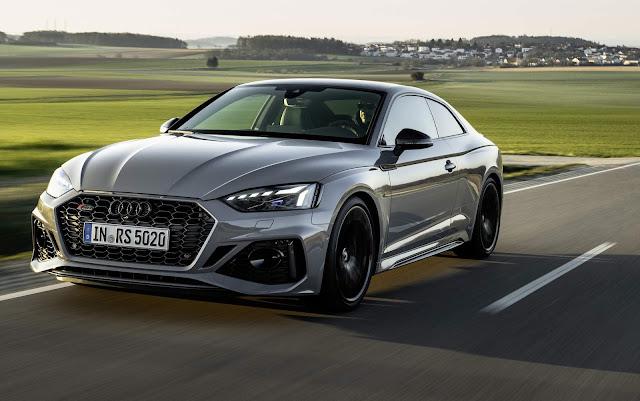 Novos Audi RS5 e RS5 Sportback 2021 - fotos e detalhes