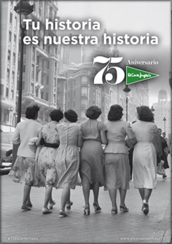 El Corte Inglés celebra su 75 aniversario