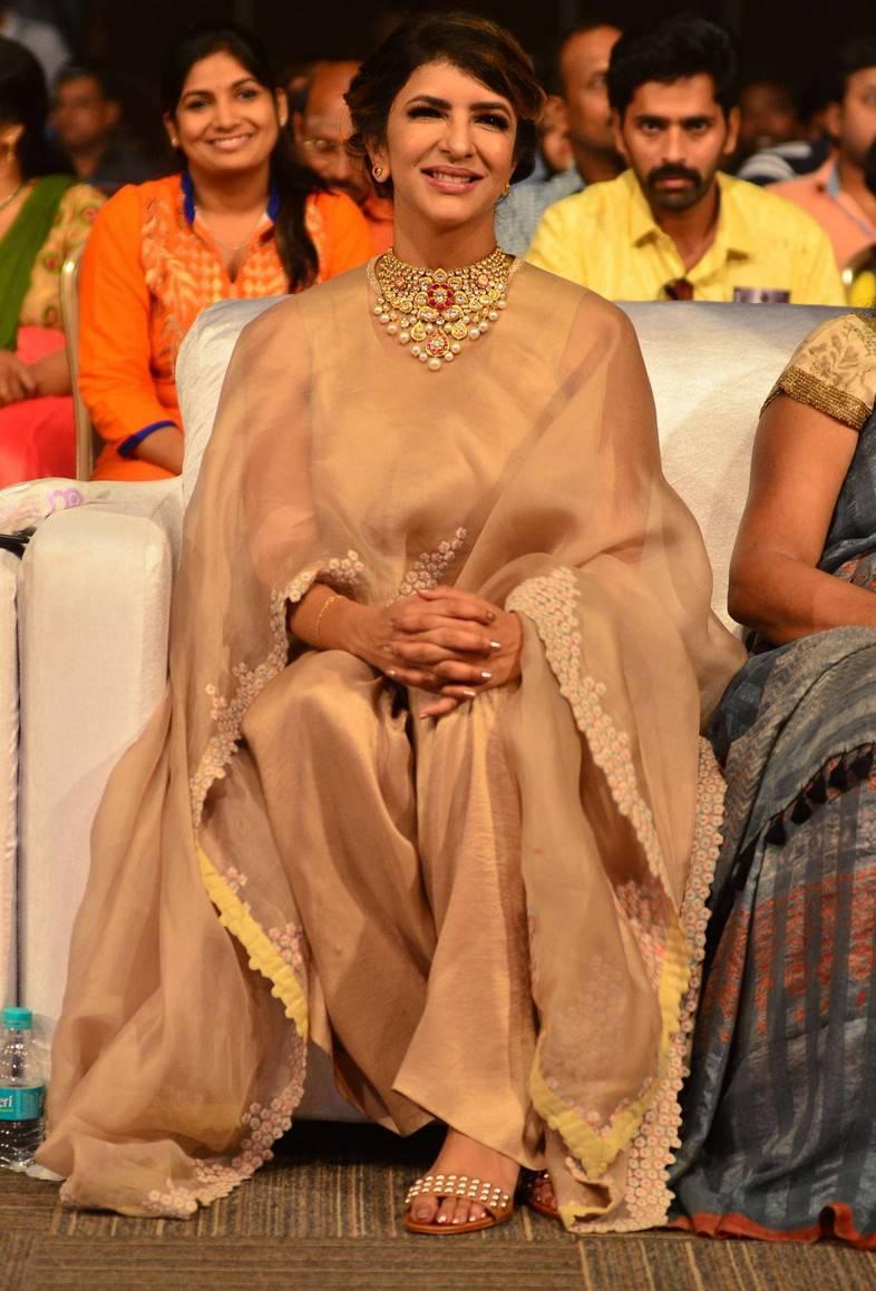Manchu Lakshmi  At Lakshmi Bomb Audio Launch