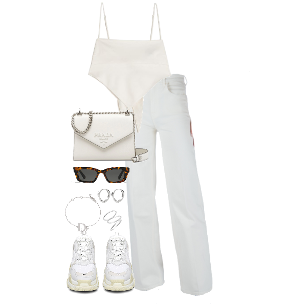 6 All White Summer Outfits