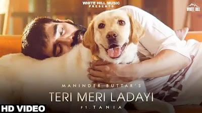 Teri Meri Ladai Lyrics  - Maninder Buttar