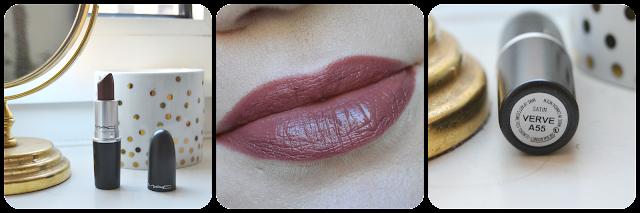 Mac, Mac cosmetics, Lipstick, Satin, Swatch, Verve, Tragebild, Lipswatch