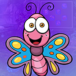 Games4King Pinky Butterfly Escape