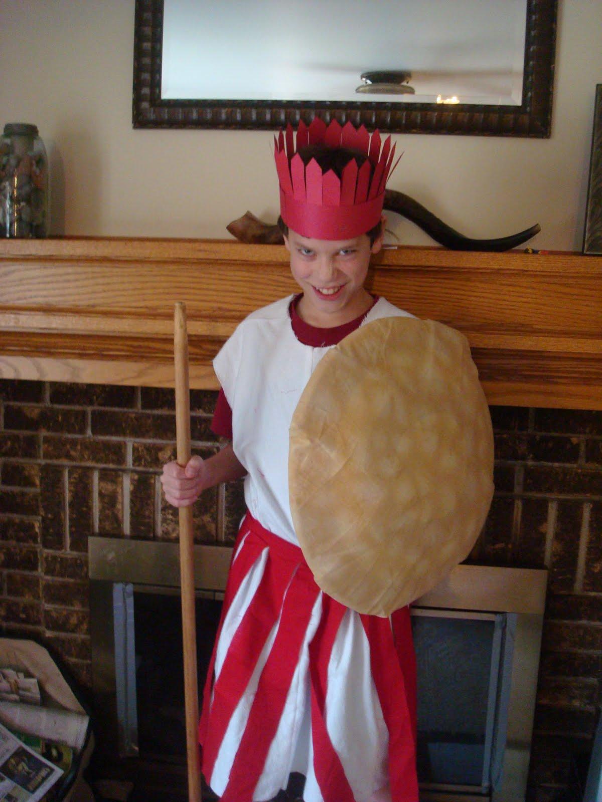Pics For > Philistine Soldier Costume