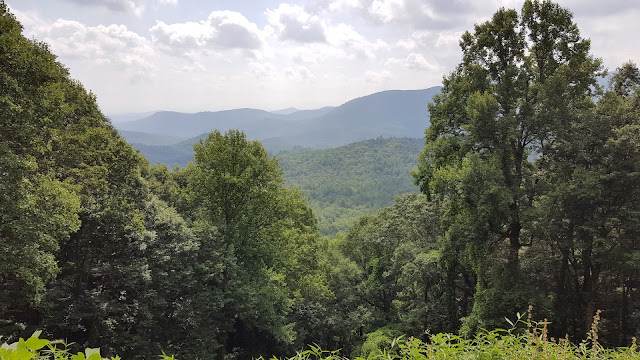 View from Old Hwy 2 in the Cohutta Wilderness