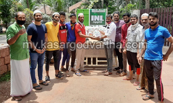Kerala, News, Kit distribution of INL Thuruthy