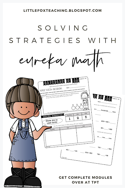 Eureka Math is becoming one of the biggest trends in elementary mathematics and don't be surprised if this curriculum is heading into your school next year!  Although Eureka Math has a lot of great strategies within its format, the worksheets are lengthy, cumbersome, and take up so much time! Not anymore!