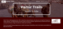 Pamir Trails the tour company of Zood Khun, Chapursan Valley