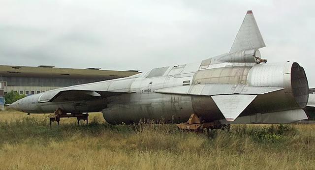 1º drone supersônico da URSS de longo alcance