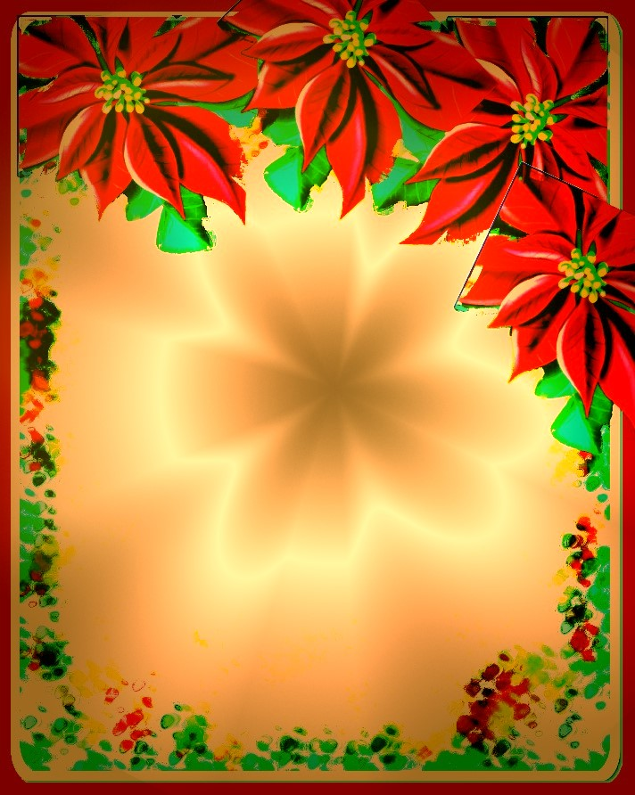 Christian Images In My Treasure Box Christmas Borders