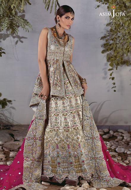 Asim Jofa bridal Open shirt dress