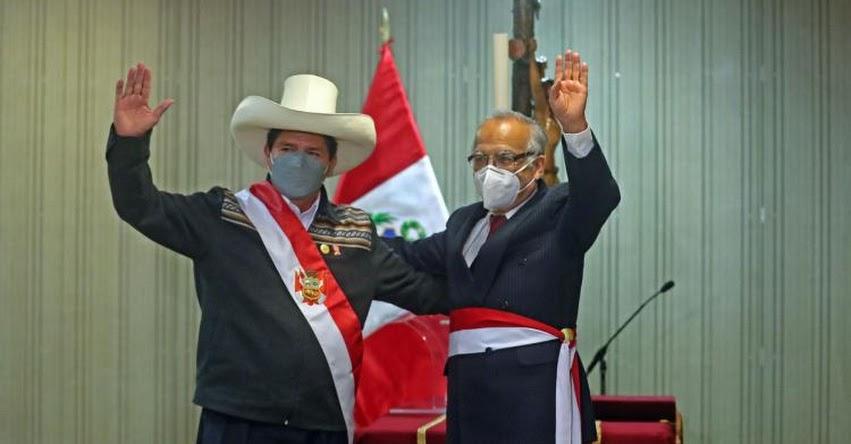 MINJUSDH: Aníbal Torres Vásquez juramentó como nuevo Ministro de Justicia y Derechos Humanos - www.minjus.gob.pe