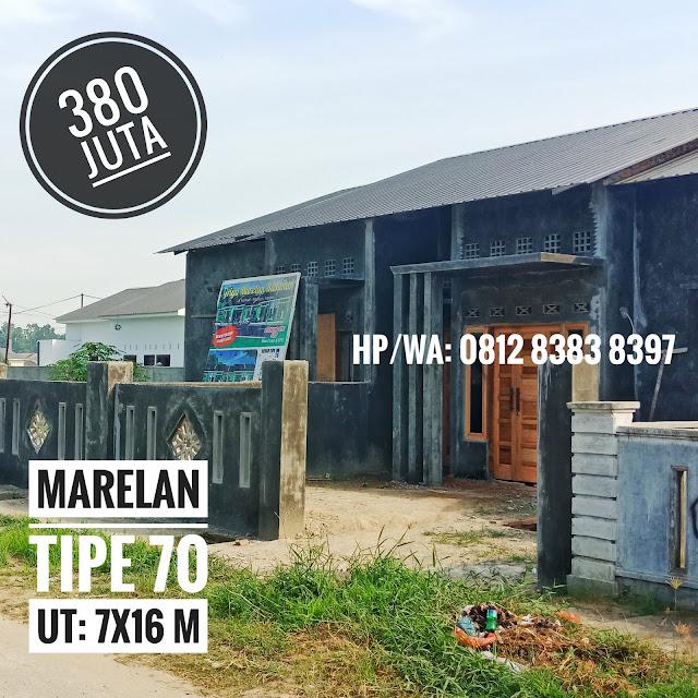 Rumah Murah 380 Juta Di Marelan Medan Gratis AJB, BBN, Notaris, Pagar Dan Bonus Umrah