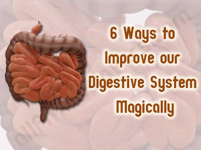 6 Ways to Improve your Digestive System Magically.