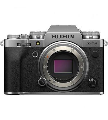 Fujifilm X-T4 Mirrorless Digital Camera Firmware Full Driversをダウンロード