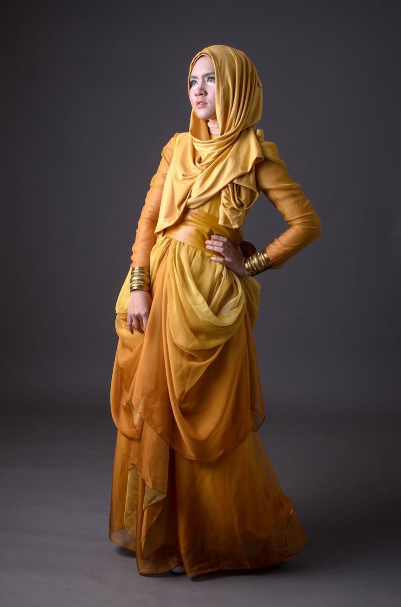 Hijab Kuning cantik dika restiyani instagram dika restiyani twitter dika restiyani facebook