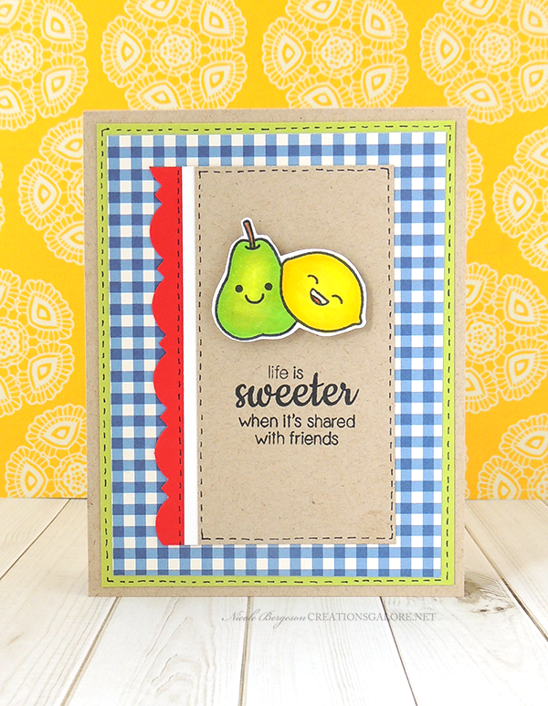 Sunny Studio Card // Creations Galore Blog