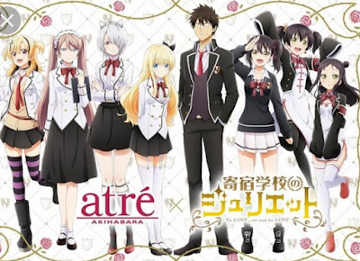 Kapan Anime Kishuku Gakkou No Juliet Season 2 Rilis?