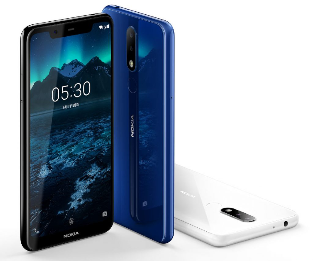 Nokia X5 is announced with dual rear camera, notched display with a $150 price tag