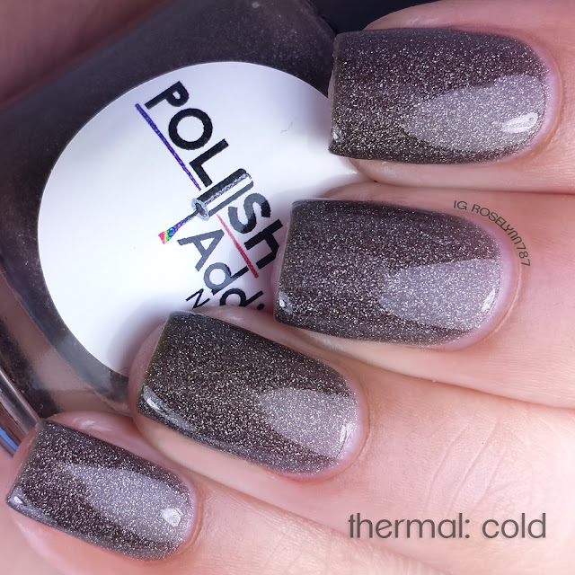Polish Addict Nail Color - Hot Chocolate