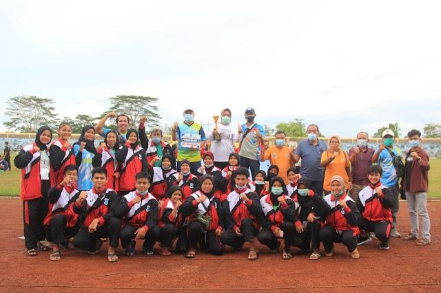 Kontingen Pangkalpinang Menyandang Juara Umum di POPDA Propinsi BABEL