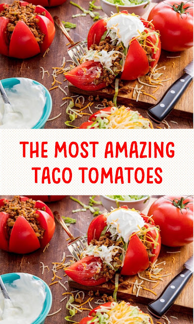 The Most Amazing Taco Tomatoes