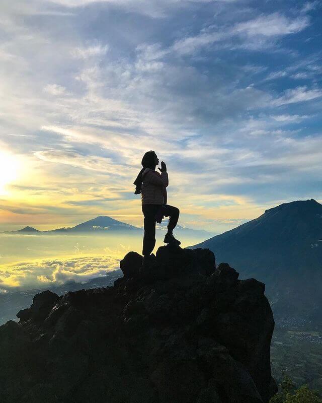 Mendaki gunung bisa memperkuat jantung dan paru-paru - foto instagram ysuryanii