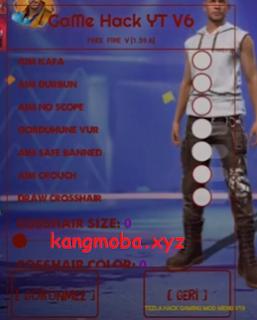 Cheat FF Mod Menu GaMe Hack YT v6 Auto Headshot Anti Blacklist