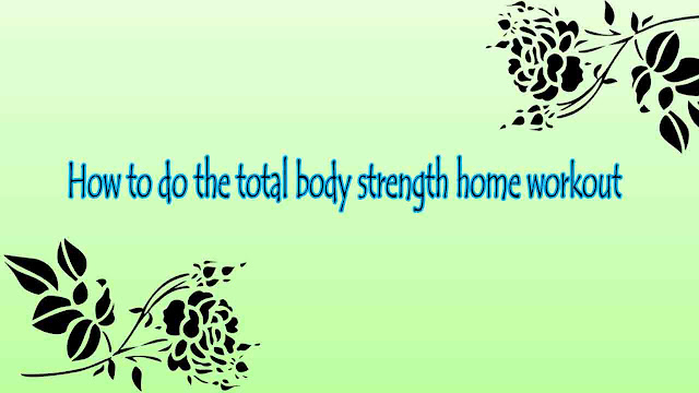 Total body strength home workout with mizuno