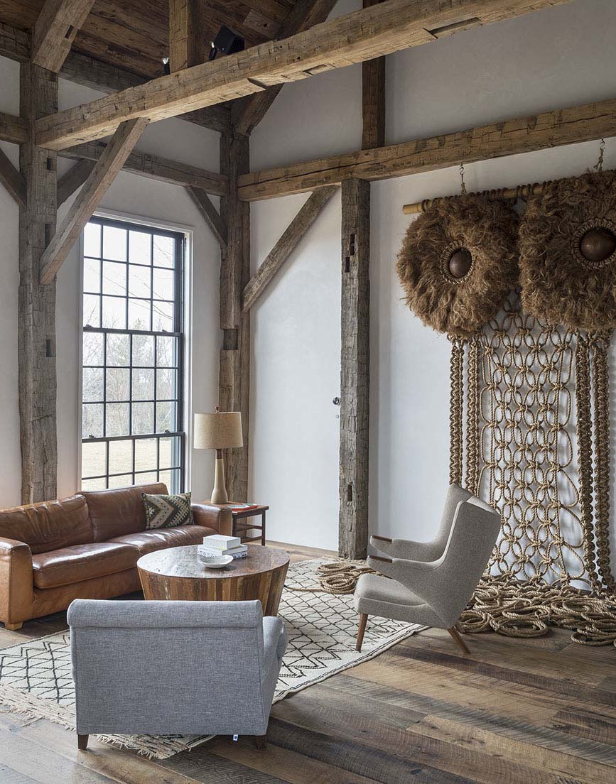 Decordemon Farmhouse Inspired Residence With Striking