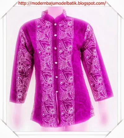 Oktober Model Baju Batik Wanita Kerja Kantor