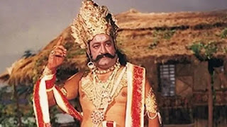 Arvind Trivedi as ramayan's 'Ravan'