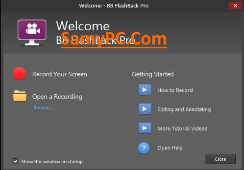 BB FlashBack Pro Free Download Full Version
