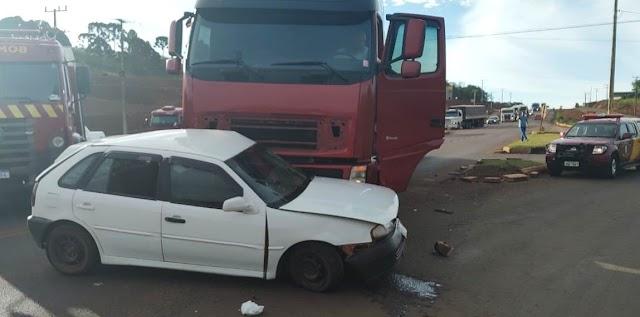 Em Pitanga homem morre após acidente na PRC-466