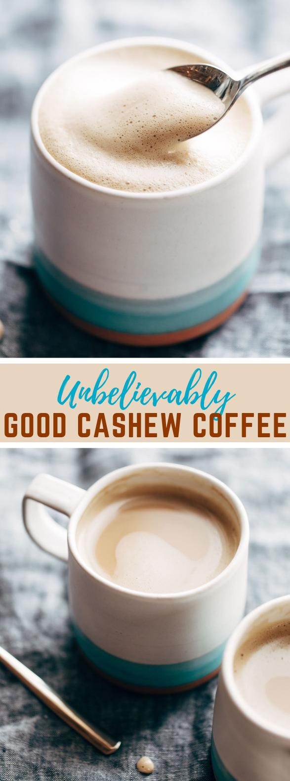 Unbelievably Good Cashew Coffee #drink #nutrition